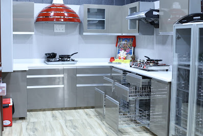 Maa Marketing – Modular Kitchen, Steel Doors