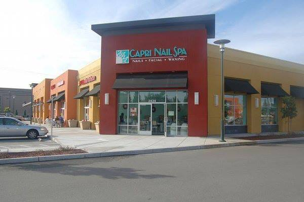 Capri Nail Spa, Mountain View - store front image