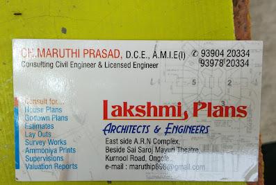 Lakshmi Plans Architects & EngineersOngole
