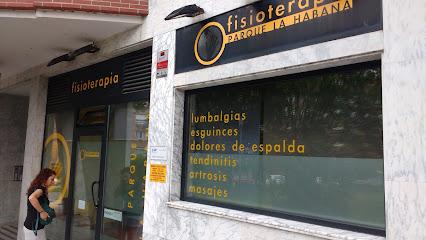 imagen de masajista Fisioterapia Parque la Habana