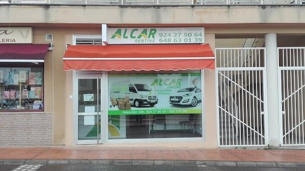 ALCAR BADAJOZ - Alquiler de furgonetas