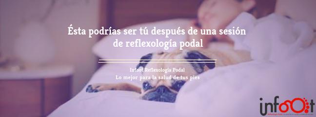 imagen de masajista Infoot Reflexología Podal