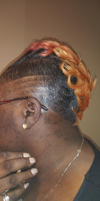 At The Shop Hair Creations