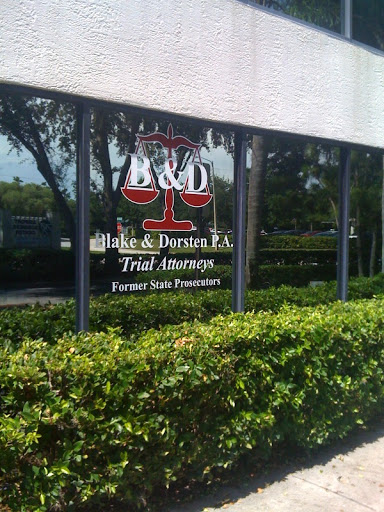 Blake & Dorsten P.A., 4707 140th Ave N #104, Clearwater, FL 33762, Criminal Justice Attorney