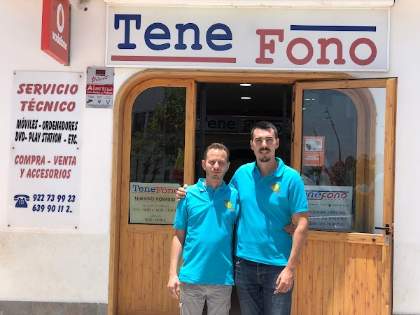 TeneFono - Parque de la Reina, Reparación de teléfonos móvil y ordenadores - Mobile phone shop and r