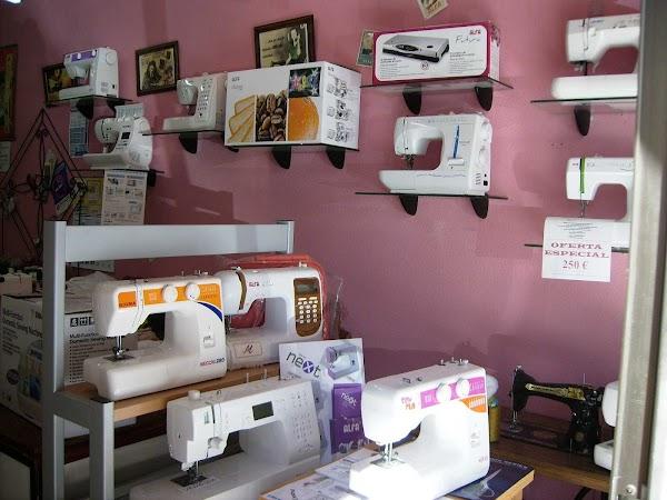 Daniel Rubio, Máquinas de coser