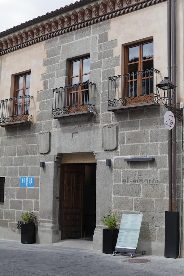 El Encanto  hotel  cafetería en Ávila