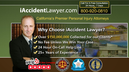 iAccidentLawyer, 2491 Alluvial Ave #56, Clovis, CA 93611, USA, Personal Injury Attorney