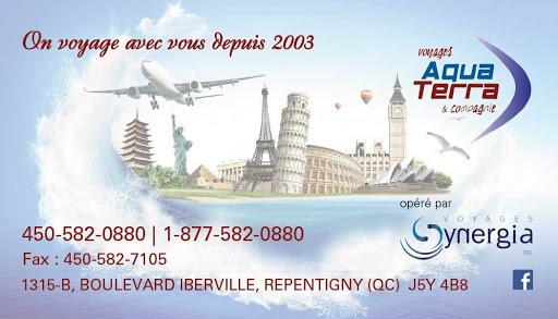Agence de voyage Voyages Aqua Terra et Compagnie Inc à Repentigny (QC) | CanaGuide