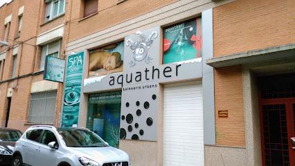 imagen de masajista aquather