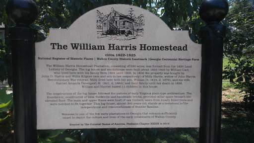 Tourist Attraction «William Harris Homestead», reviews and photos, 3636 State Hwy 11, Monroe, GA 30656, USA
