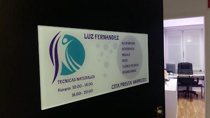 imagen de masajista Luz Fernández. Técnicas naturales