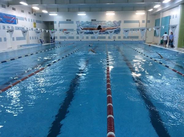 Спортивный комплекс «Дворец спорта Радуга» в городе Дубна, фотографии