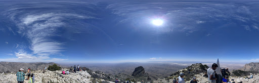 Google Photo Sphere of Guadalupe Peak