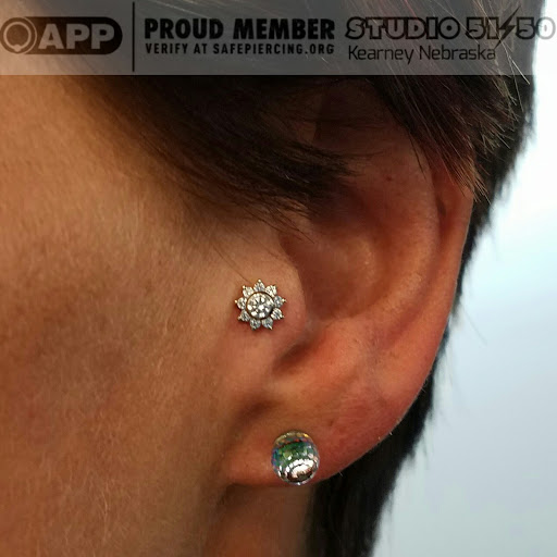 Body Piercing Shop «Studio 51/50 Body Piercing & Exquisite Jewelry», reviews and photos, 2303 13th Ave, Kearney, NE 68845, USA