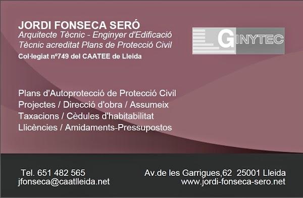 Arquitecto técnico Jordi Fonseca Seró