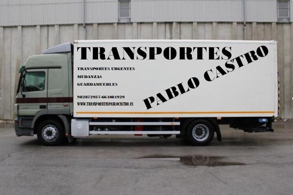TRANSPORTES Y MUDANZAS PABLO CASTRO