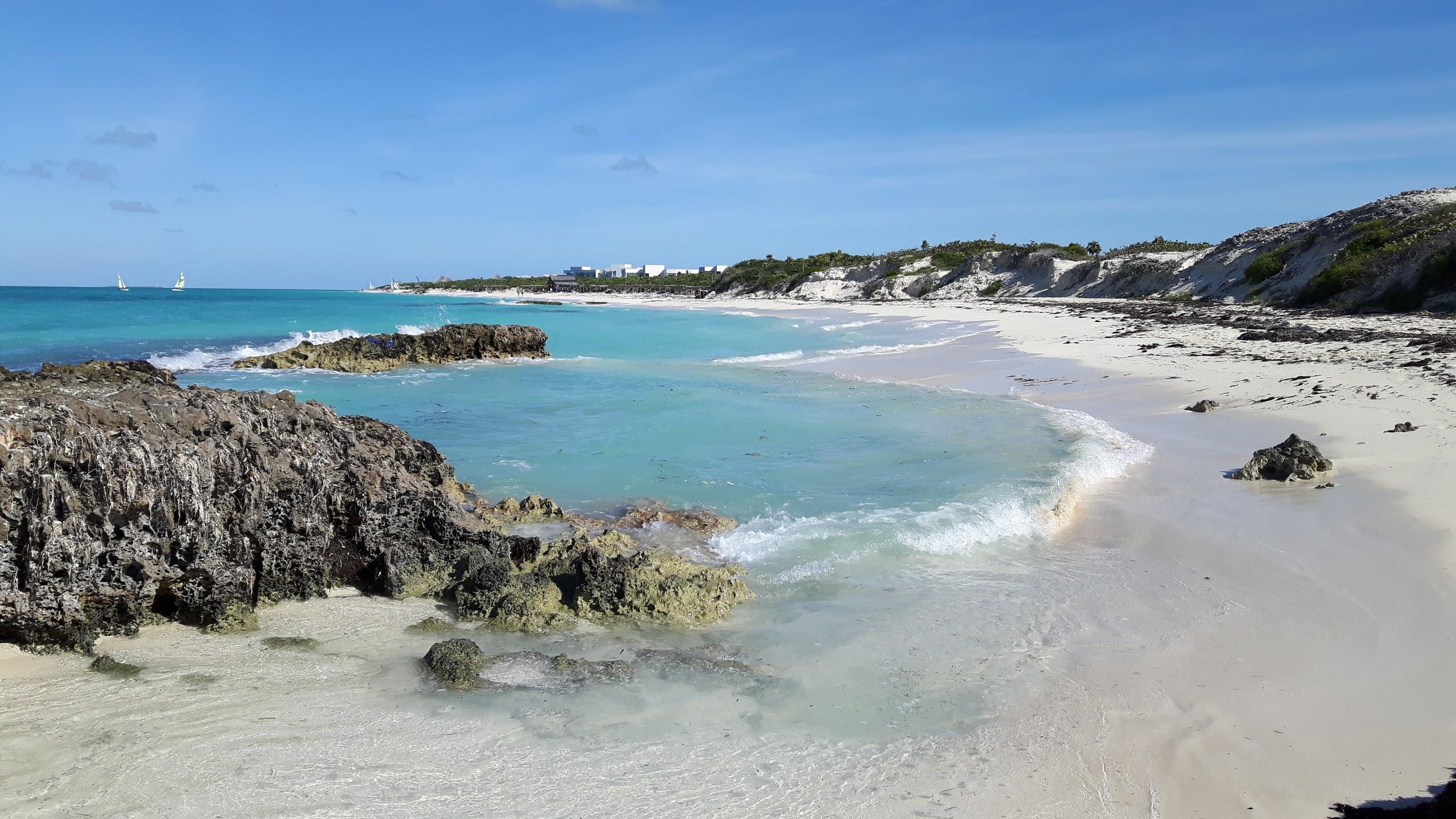 Perla Blanca Beach in the Santa María Cays, north of Villa Clara Province, Cuba. Photo: Tee Bee