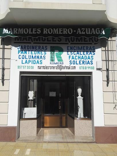 MÁRMOLES ROMERO - AZUAGA