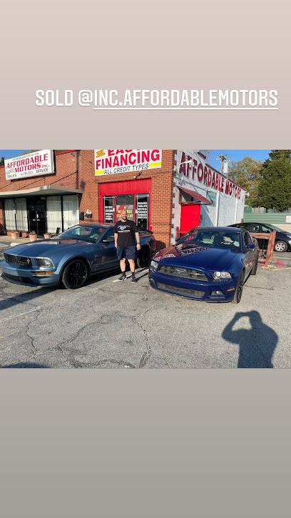 Used car dealer Affordable Motors inc
