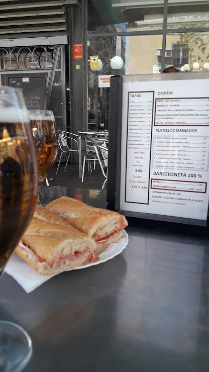 Restaurante Paco. Mercado BARCELONETA Carrer del Baluard, 23, 08003 Barcelona