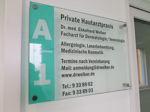Hautarzt «Private Hautarztpraxis Dr  med  Ekkehard Welker