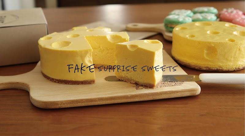 FAKE surprise sweets フェイクサプライズスイーツ