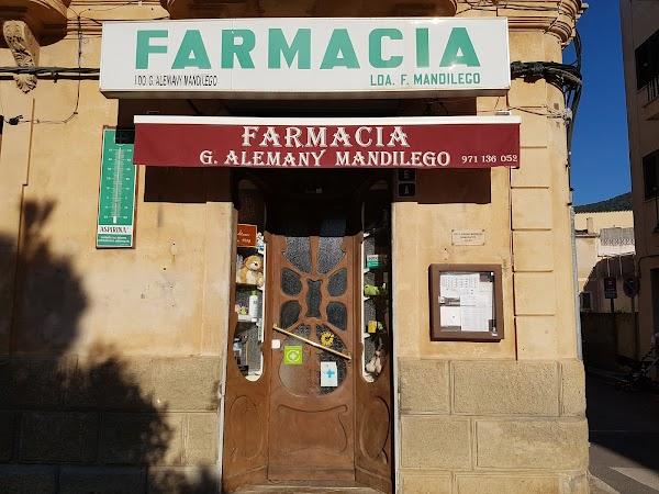 Farmacia Alemany Mandilego