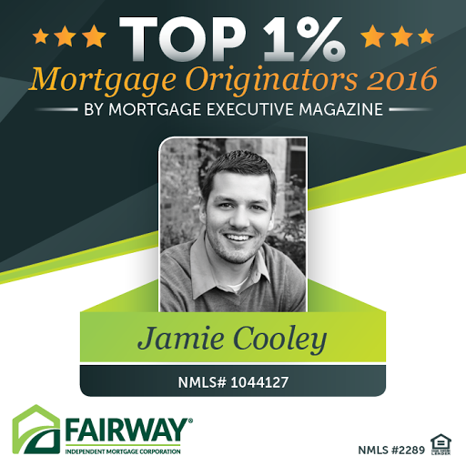 Mortgage Lender «Jamie Cooley - Fairway Independent Mortgage Corp.», reviews and photos