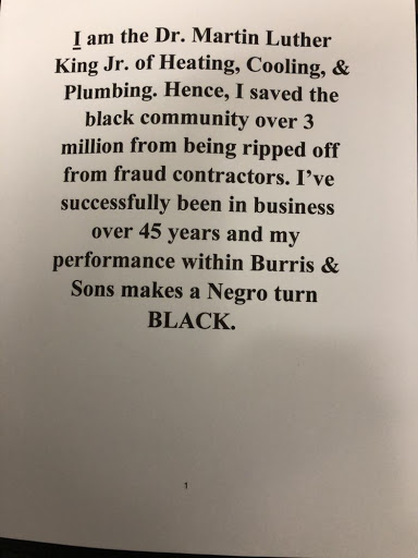 Burris & Sons Heating, Cooling & Plumbing in Chicago, Illinois