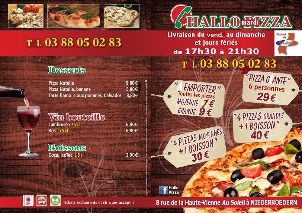 photo du resaurant Hallo Pizza