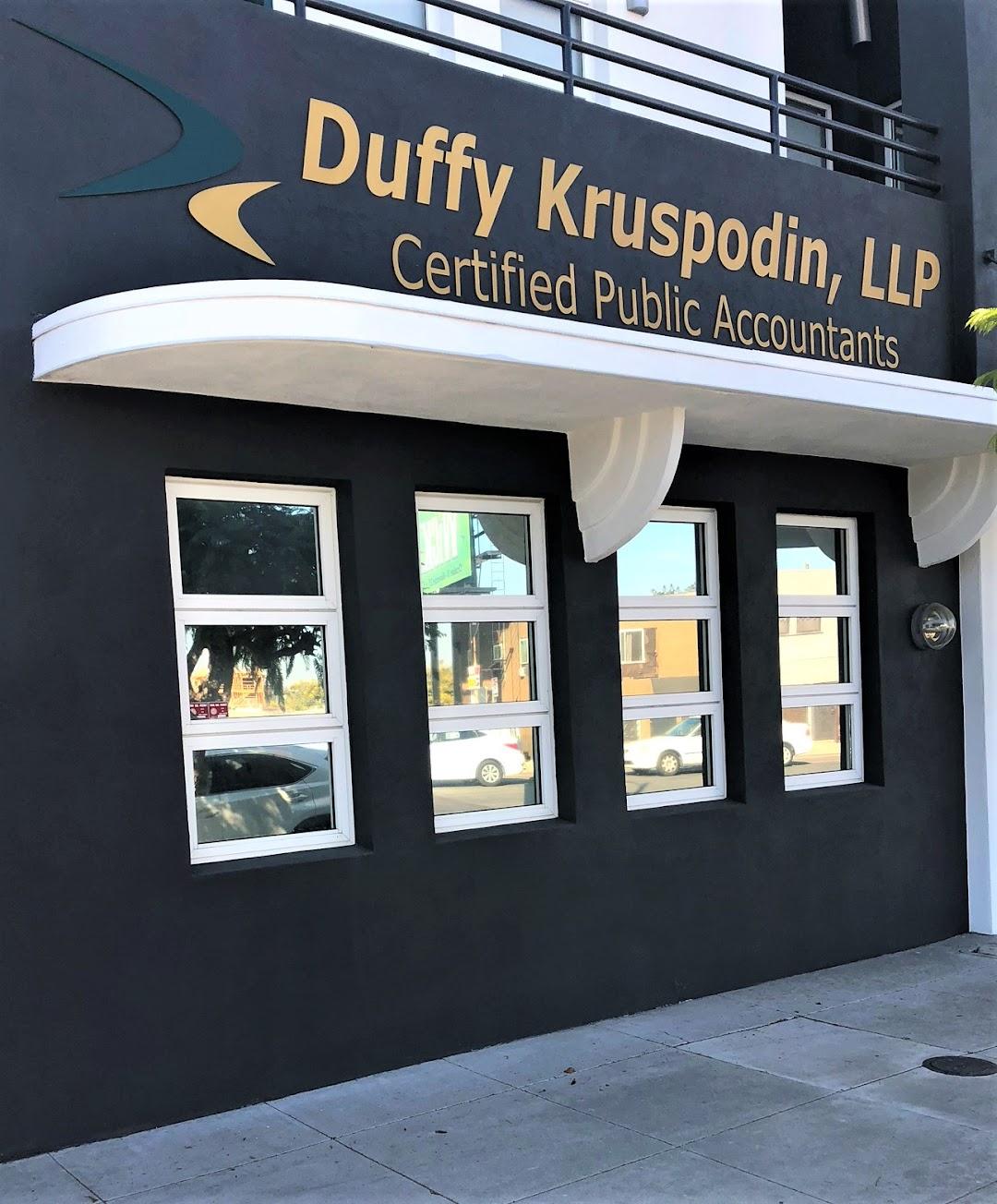 Duffy Kruspodin, LLP Certified Public Accountants