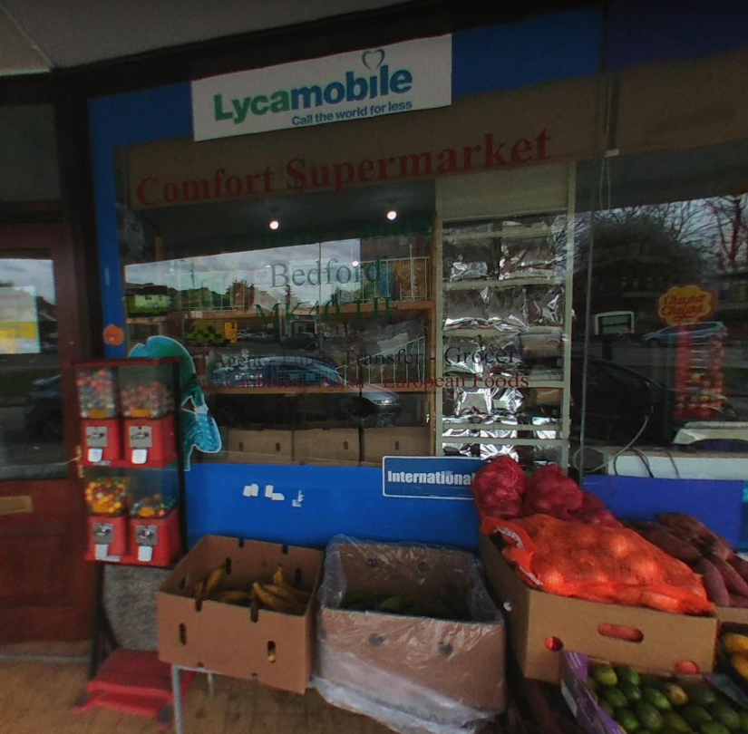 Comfort Supermarket Bedford