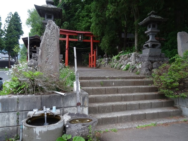 野沢温泉の湧水