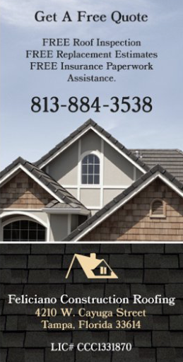 Feliciano Roofing, LLC. in Tampa, Florida