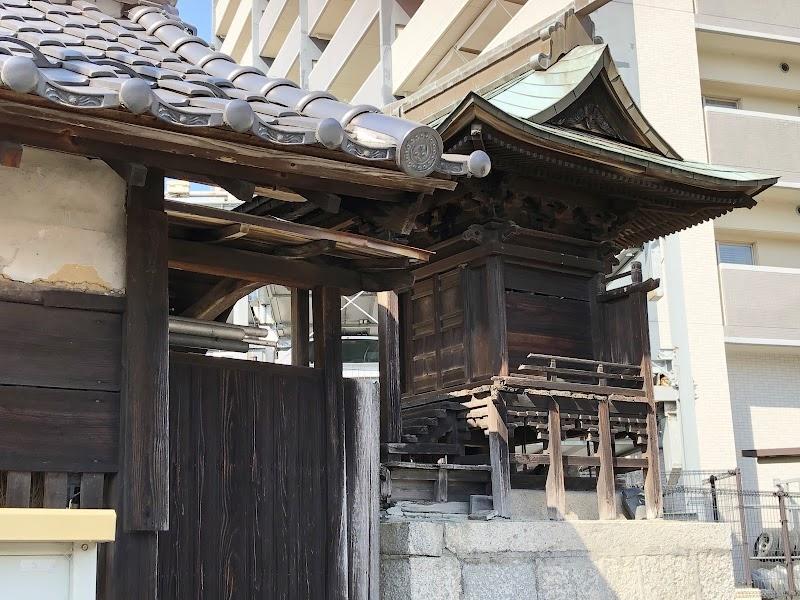 上市の稲荷神社