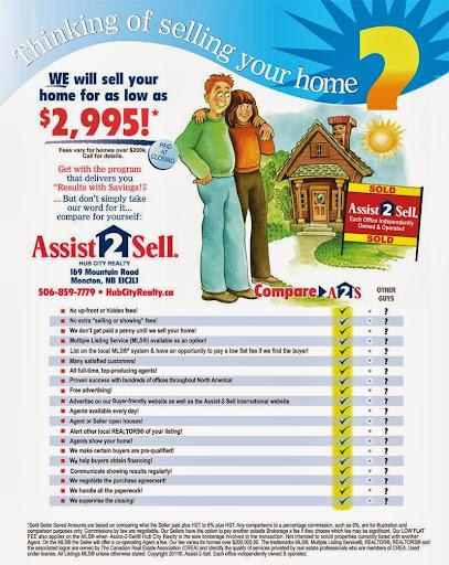 Immobilier - Résidentiel Assist 2 Sell Hub City Realty à Moncton (NB) | LiveWay