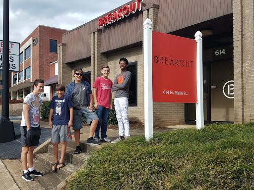 Amusement Center «Breakout Escape Games - Greenville», reviews and photos, 614 N Main St, Greenville, SC 29601, USA