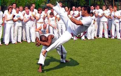 Abada Capoeira Tigre