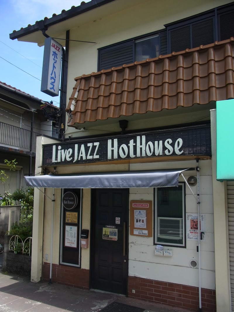 Live JAZZ Hot House(ホットハウス)