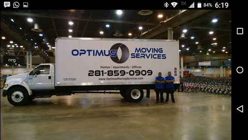 Optimus Moving Services, 20615 Baron Bend Ln, Katy, TX 77449, Mover