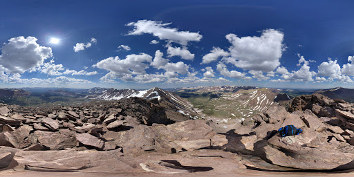 Google Photo Sphere of Kings Peak