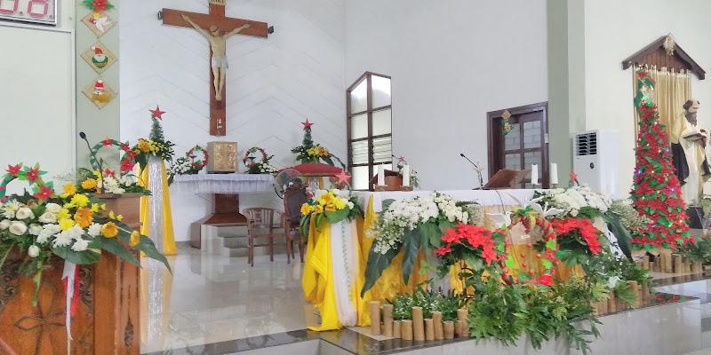 Dekorasi Altar yang indah