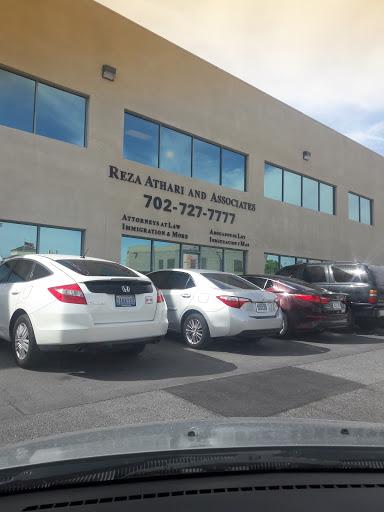 Reza Athari & Associates, 3365 Pepper Ln # 102, Las Vegas, NV 89120, Attorney