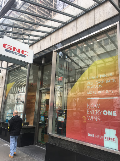 Vitamin & Supplements Store «GNC», reviews and photos, 421 Pike St, Seattle, WA 98101, USA