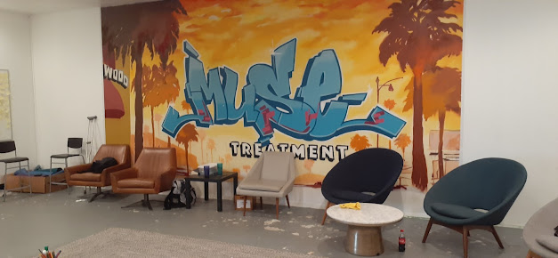 muse treatment alcohol and drug rehab los angeles wall art mural