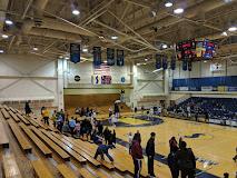 inside of basketball court