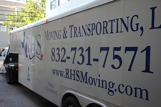 RHS Moving & Transporting, 2450 Louisiana St #400, Houston, TX 77006, Mover