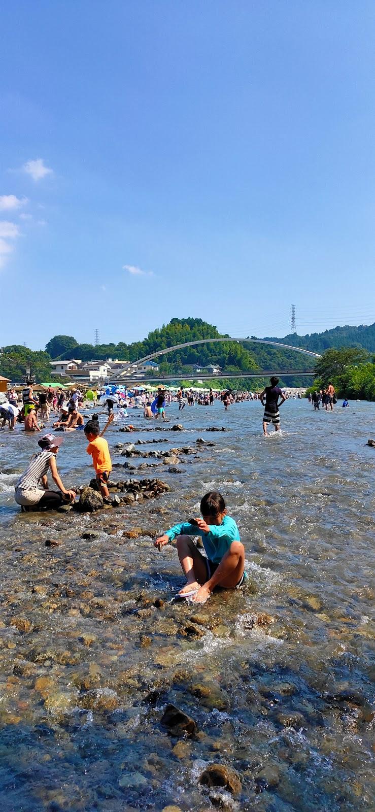 河川 公園 川橋 秋