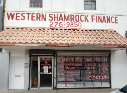 Western-Shamrock Finance, 259 N Sam Houston Blvd, San Benito, TX 78586, Loan Agency